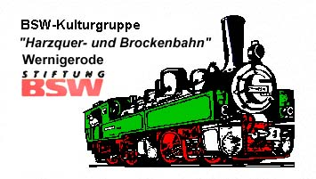 """Kulturgruppe """"Harzquer- und Brockenbahn"""" Wernigerode"""